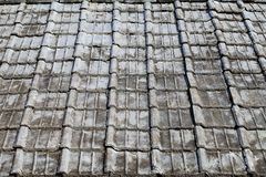 старые плитки крыши Стоковые Фотографии RF