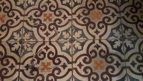 Старые плитки пола 3 Стоковое Изображение