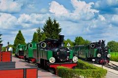 Старые поезда Стоковое Изображение RF