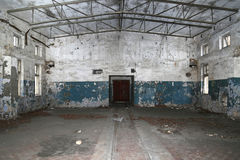 Старые покинутые промышленные предпосылки Стоковое Изображение RF