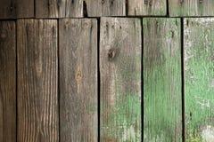 старые покрашенные планки деревянные Стоковое фото RF