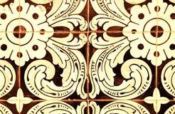 старые португальские плитки Стоковые Фото