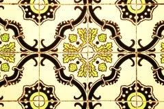 старые португальские плитки Стоковые Изображения RF