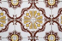 старые португальские плитки Стоковые Фотографии RF