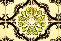 старые португальские плитки Стоковая Фотография