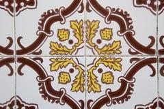 старые португальские плитки Стоковое Фото