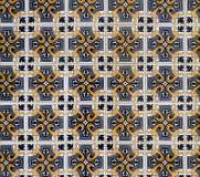 старые португальские плитки Стоковое Изображение