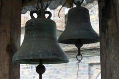 Старые правоверные колоколы монастыря Святого Dionysius стоковое фото
