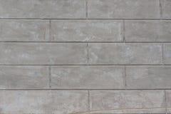 Старые предпосылка и текстура стены бетонной плиты Стоковое Изображение