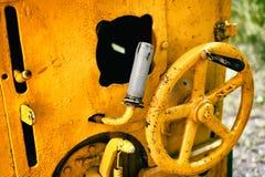 Старые приборы от машина двигатель Стоковое Фото