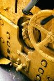 Старые приборы для машина двигатель Стоковые Фотографии RF