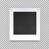 Старые пустые рамки изображения фото, опорожняют изображение Стоковое Изображение RF