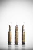 Старые пули пулемета Стоковая Фотография