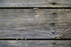 старые планки выдержали деревянное Стоковое фото RF
