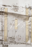 Старые пластичные рукави на стене Стоковое Изображение RF