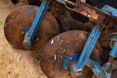 Старые плуги Стоковые Фотографии RF