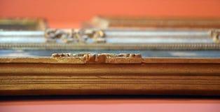 Старые рамки картины - импрессионистская выставка Стоковая Фотография RF