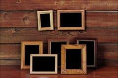 Старые рамки фото Стоковое Изображение RF