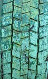 Старые резиновые автошины Стоковые Изображения