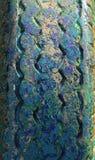 Старые резиновые автошины Стоковые Фото