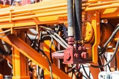 Старые ремонт и конструкция механизма Стоковое Изображение RF
