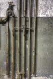 Старые ржавые трубы Стоковое Фото
