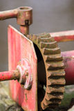 Старые ржавые шестерни Стоковые Изображения RF