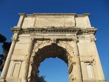 Старые римские ворота стоковое фото