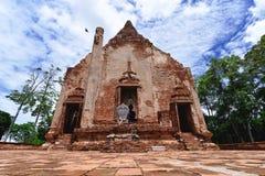 Старые руины Азии Стоковые Изображения RF