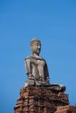 Старые руины буддиста на Ayutthaya Стоковое Изображение