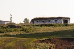 Старые руины в сельской местности стоковое фото rf