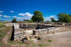 Старые руины в Dion стоковые изображения rf