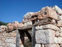 Старые руины дома Стоковое Изображение RF