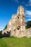 Старые руины замка в Европе стоковая фотография rf