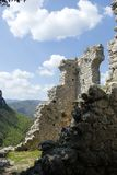 Старые руины замка Стоковые Изображения