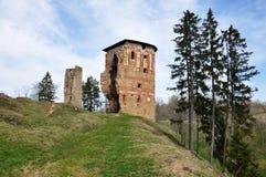 Старые руины замка Стоковое Изображение RF