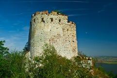 Старые руины замка Стоковые Изображения RF