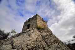 Старые руины замка - Pavlov Стоковые Фотографии RF