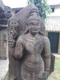 Старые руины индусского kumara бога swamy стоковые фотографии rf