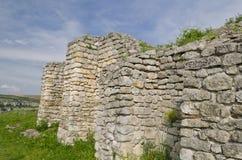 Старые руины средневековой крепости Стоковое фото RF