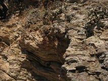 Старые руины среднеземноморского, виски, колоннады Стоковые Изображения RF
