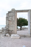 Старые руины стен старого города Hersones Стоковая Фотография