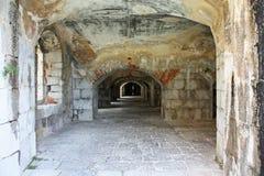 Старые руины форта войны Стоковая Фотография RF