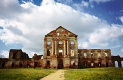 старые руины дворца Стоковое фото RF