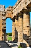 Старые руины Paestum Италия стоковые изображения