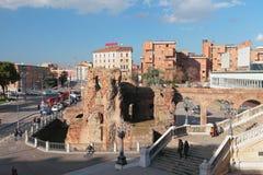 Старые руины Rocca Galliera Болонья, эмилия-Романья, Италия Стоковые Фотографии RF