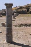 Старые руины Thira, Santorini Стоковые Фотографии RF