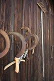 старые серпы сгребалки Стоковые Фото