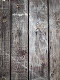 Старые серые деревянные доски Стоковые Изображения RF