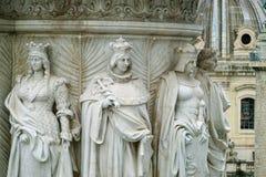 Старые скульптуры алтара отечества Стоковые Изображения